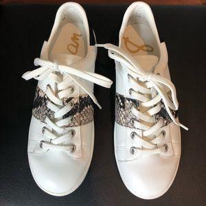 Sam Edelman Snakeskin Sneakers